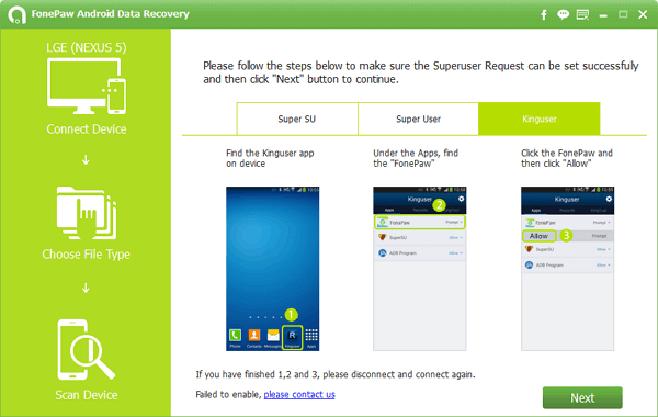 FonePaw Android Data Recovery 1.3.0 Crack