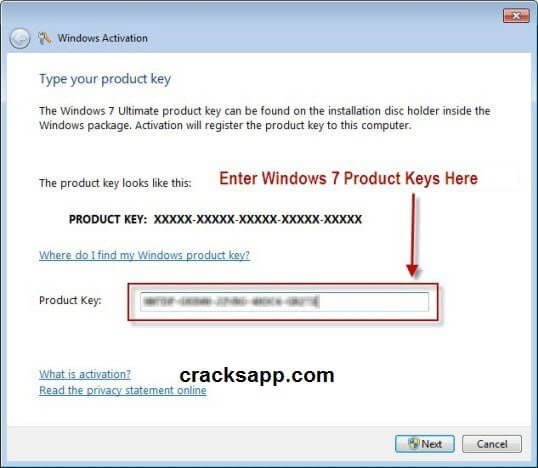 Windows 7 Ultimate Product Key 32bit Genuine