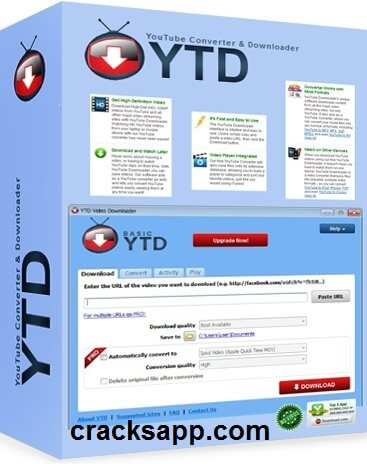 YTD YouTube Video Downloader Pro 4.8.9 Crack Full Free