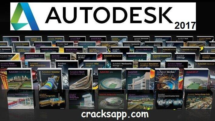 Autodesk 2017 Crack + Universal Keygen Free Download