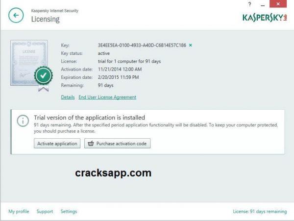 Kaspersky Internet Security 2015 Activation Code Free Download