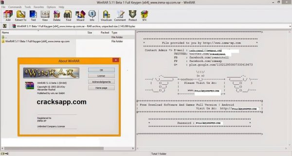 WinRAR Any Version Crack Free Download