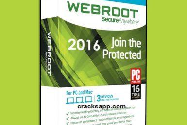 Webroot Secureanywhere Antivirus 2016 Full Crack