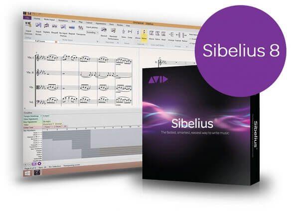Avid Sibelius 8 Full Crack + Activation Code Generator