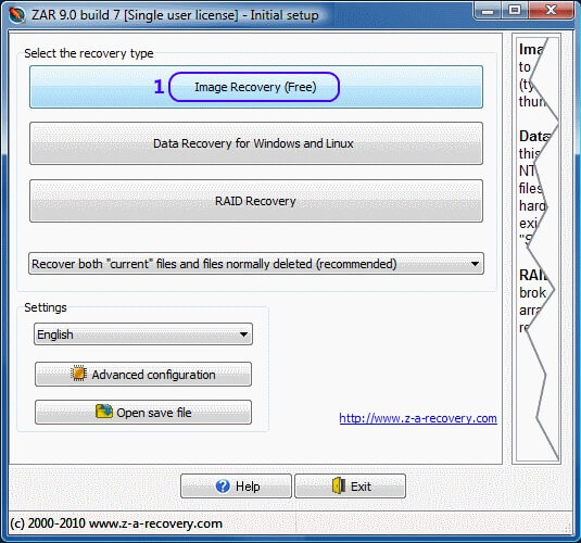 Zero Assumption Recovery 10 License Key