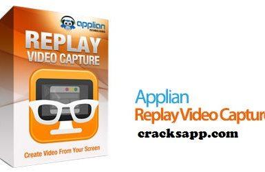 Replay Video Capture 8 Crack Plus Registration Key Full
