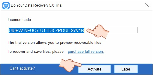 Do Your Data Recovery 5 License Code