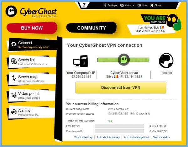 CyberGhost VPN 5.5 Activation Key