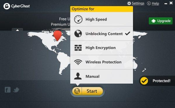 CyberGhost VPN 5.5 Premium Key